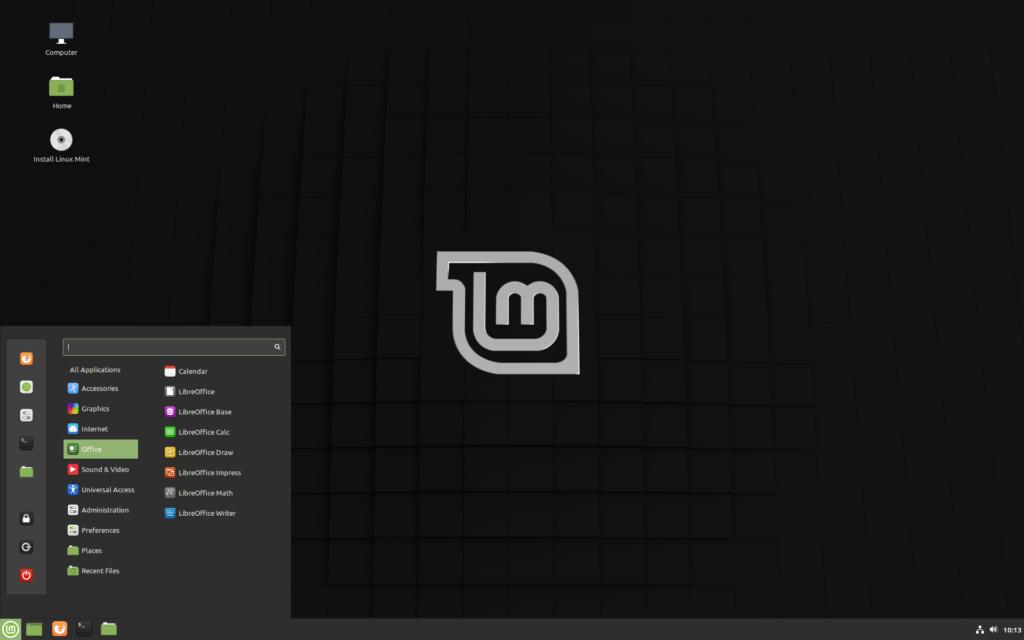 Escritorio Linux Mint 19.3 Cinnamon