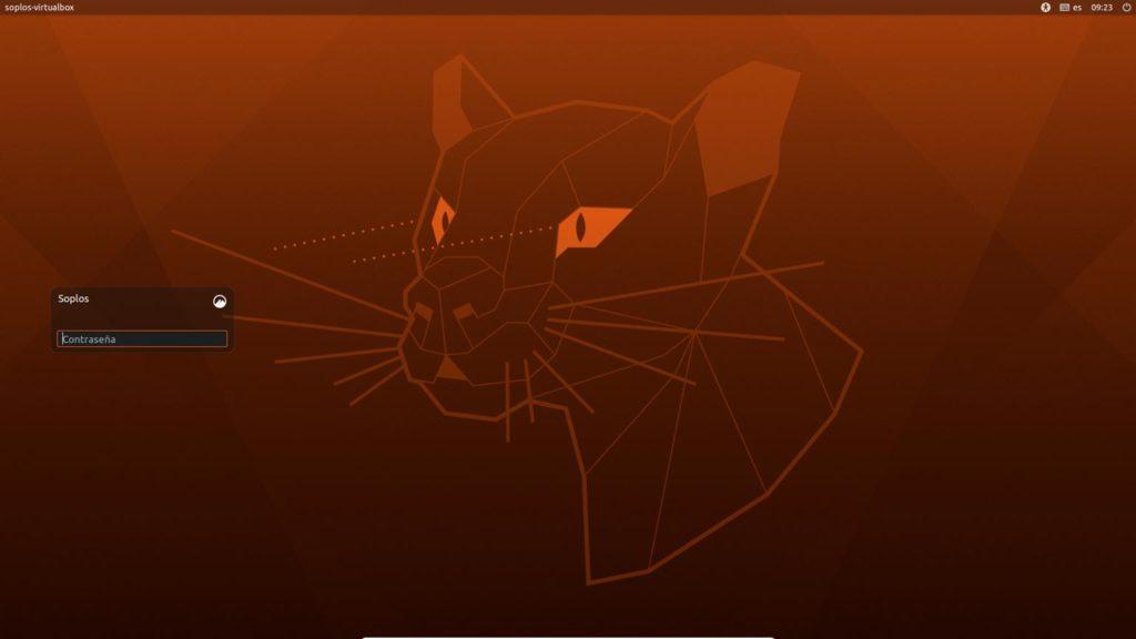 Pantalla de login de Ubuntu Cinnamon Remix