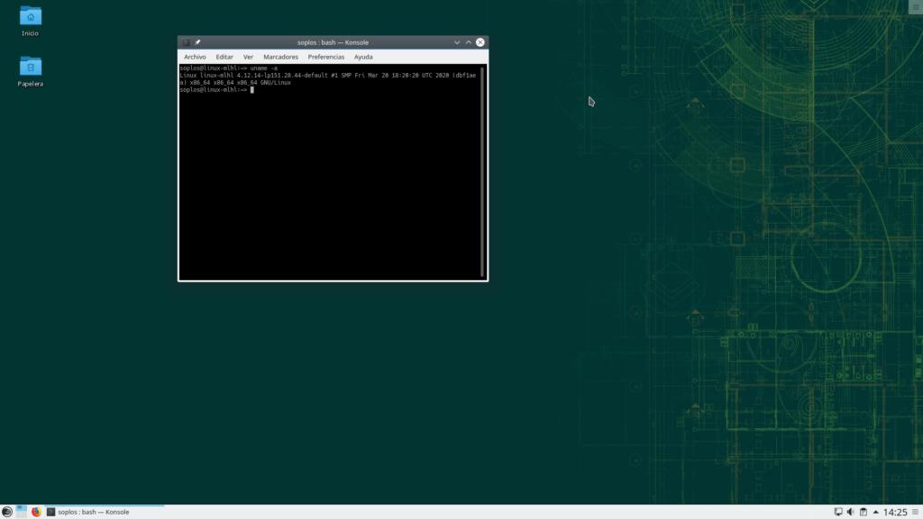 Version de kernel de OpenSuse