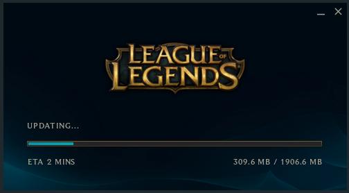Interfaz League of Legends